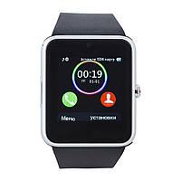 Смарт часы GT08 (ORIGINAL) Smart watch 1 sim, 1 SD карта silver/black., фото 1