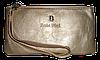 Женский кошелек-клатч Bobi Digi золотистого цвета из кожзама WLP-061011