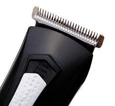 Набор для стрижки бороды. Стайлер Kemei KM-3007, 3в1, триммер для стрижки бороды., фото 2