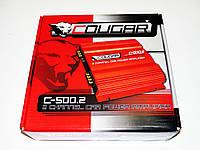 Усилитель Cougar 500.2 1000Вт 2-х канальный , фото 1