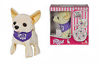 Интерактивная собачка Чихуахуа Chi Chi Love Flippi, 10 см (5897257)***