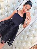 Комплект женское платье с кофточкой
