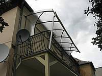 Козырьки входного и балконного типа
