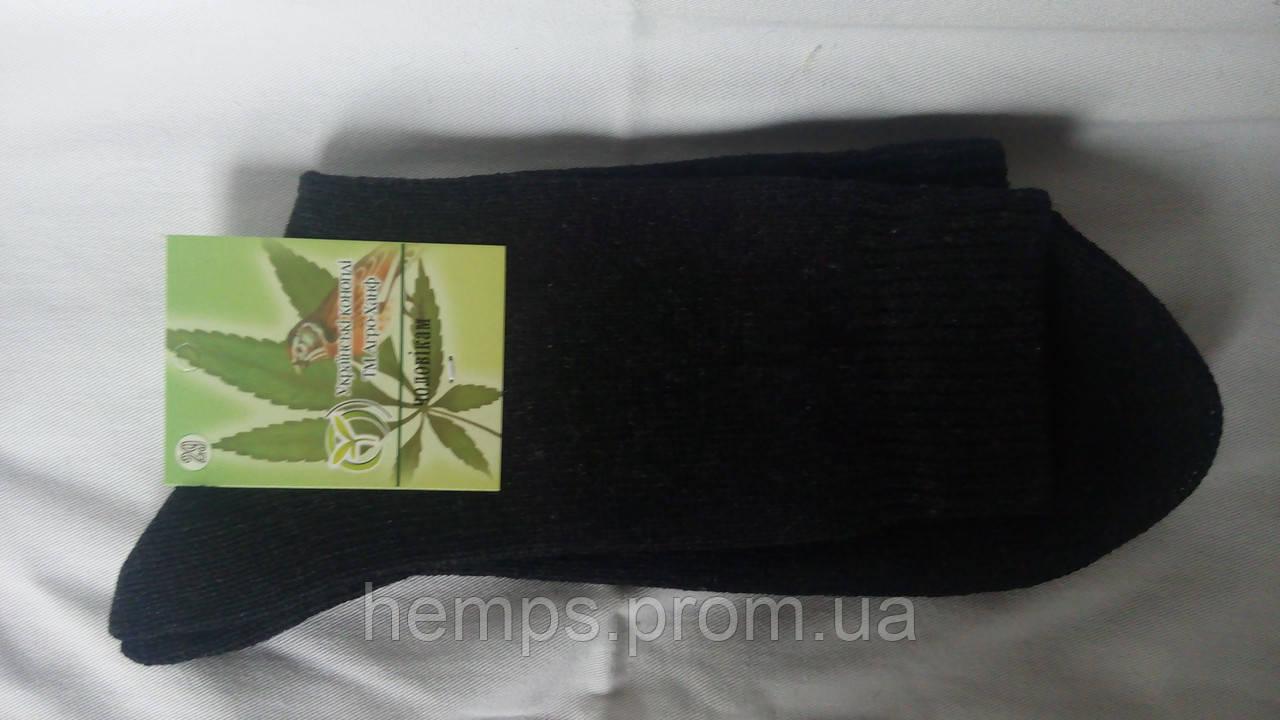 Носки из конопли мужские 27 / L / 41-43 Черный - Компания «Hemps» в Киеве