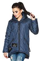 Женская демисезонная удлиненная куртка, фото 1