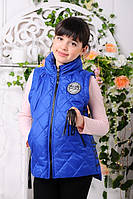Модная жилетка для девочки Анюта