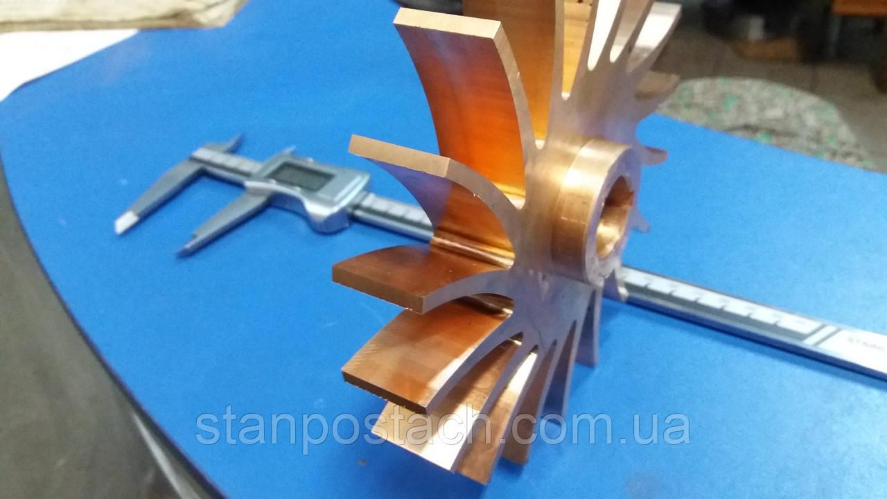 Изготовление импеллеров и крыльчаток, турбинных лопаток