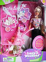 Кукла DEFA 20958 с дочкой