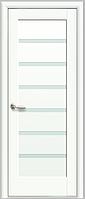 Межкомнатные двери Линнея сатин (белый матовый)