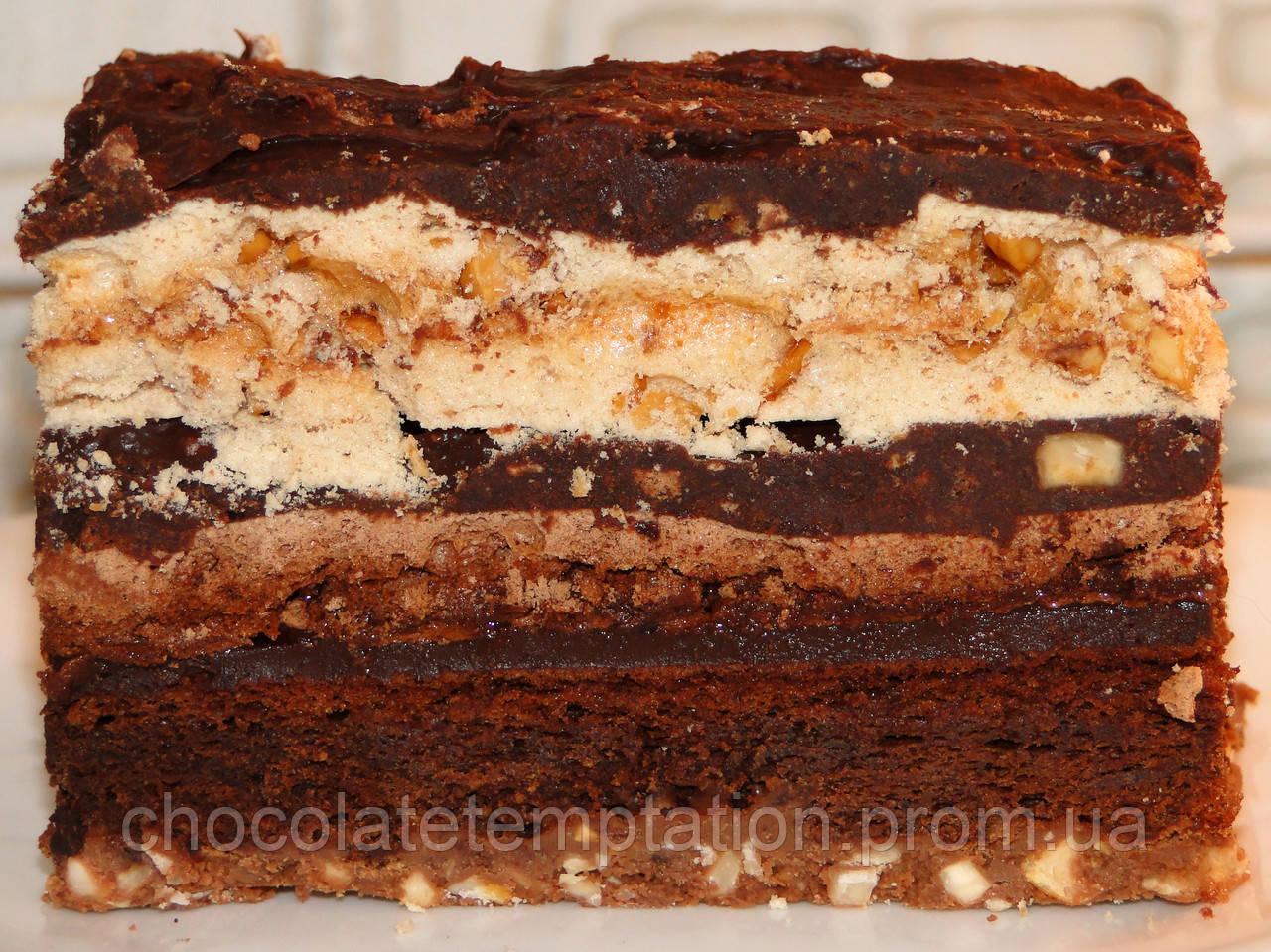 Торт Безе-Орехи-Шоколад
