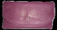 Удобный женский кошелек Bobi Digi бордового цвета из иcкусcтвенной кожи  WYY-062001