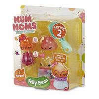 Набор ароматных игрушек NUM NOMS S2 - JELLY BEAN (3 нама, 1 ном, с аксессуарами)