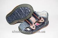 Детские кожаные босоножки (сандалии) B&G для мальчиков с закрытым носочком