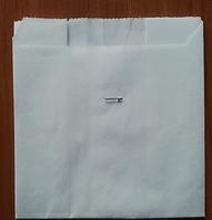 Упаковка для картофеля фри маленькая белая