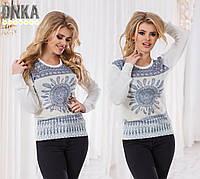 Весенний женский свитерок