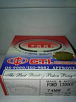 Кольца Форд Ескорт 1.3 с1989г,  74      STD  ( 1.5 х 1.75 х 3 )   C.T.I