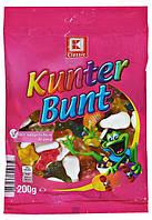 Конфеты желейные Разноцветное Ассорти Kunter Bunt 200гр.(Германия)