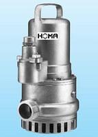 Дренажные насосы HOMA для агрессивных сред (св. проход 10-70 мм)