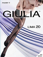 Колготки женские с оригинальным рисунком LIMA 20 (MODEL 1)