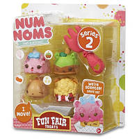 Набор ароматных игрушек NUM NOMS S2 - ПРАЗДНИЧНОЕ УГОЩЕНИЕ (3 нама, 1 ном, с аксессуарами)