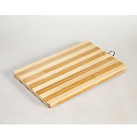 Доска разделочная бамбук 20х30 А123