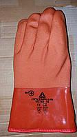 Перчатки рыбацкие зимние DELTAPLUS, ПВХ, оранжевые