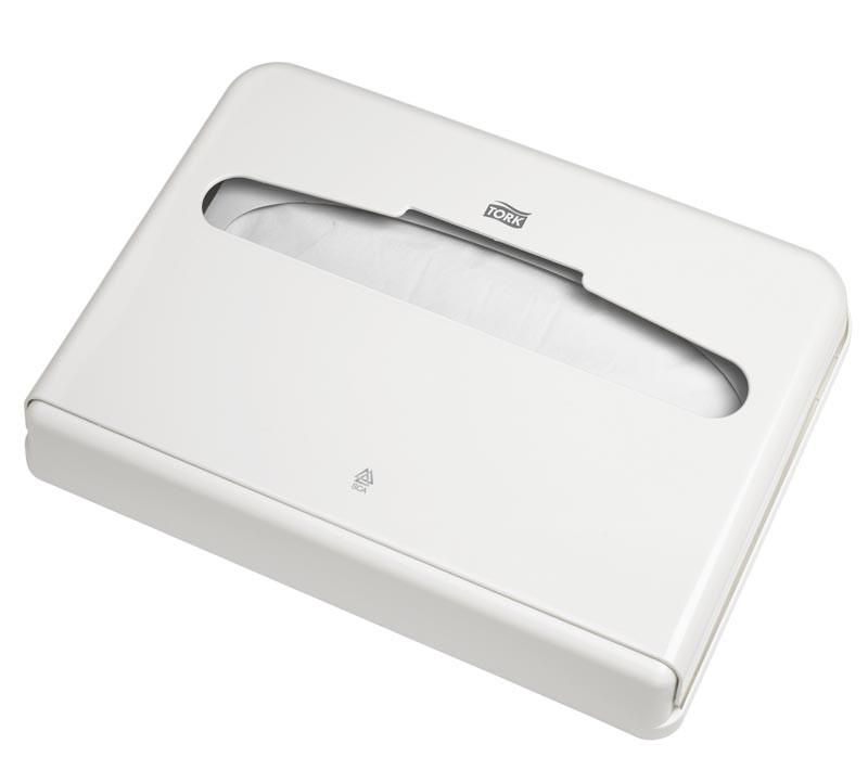 Диспенсер для покрытий на унитаз Tork белый