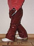 Штаны зимние Детские Синтепон+Флис 2-3 года, фото 4