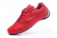Мужские кроссовки Puma Ferrari All Red (Пума Феррари) красные