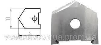 Пластины для сборных перовых сверл  68 2000-1251 ГОСТ 25526 Р6М5 СССР, фото 2