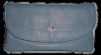 Стильный женский кошелек Bobi Digi серого цвета из искусственной кожи  WYY-062021