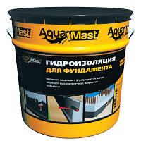 Мастика битумная для фундаментов  AquaMast Технониколь 18кг (Аквамаст Гидроизоляция фундамента)