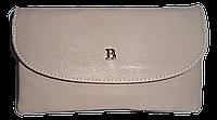 Стильный женский кошелек Bobi Digi бежевого цвета из искусственной кожи  WYY-062031