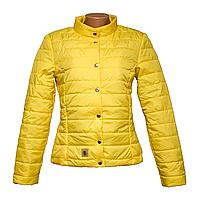 Куртка женская желтая в Одессе   KD1375