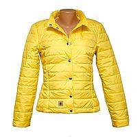 Куртка женская желтая в Одессе по низким ценам  KD375-6