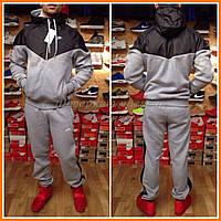 Спортивный костюм Nike со вставками из плащевки