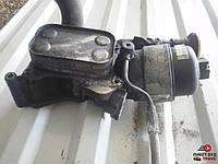Корпус масляного фильтра на Fiat Doblо Фиат Добло 1.3mjet