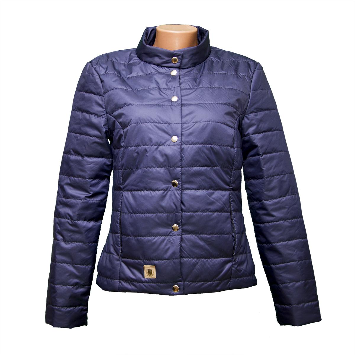 8b2c8954a3f Куртка женская темно-синяя новые модели KD1375 т синий - Оптово-розничный  интернет-