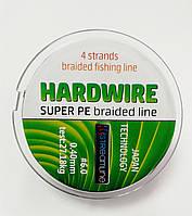 Шнур STREAMLINE HARDWIRE 100m 0.40mm dark green 4-жильный, фото 1