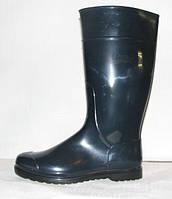 Сапоги женские высокие Псков полимер, утеплённые РС 16 УФ размер 40. синий-черный