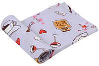 Кухонное вафельное полотенце, 45*80 см.