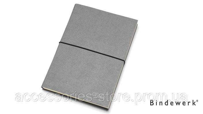 Блокнот Audi Notebook Nardia DIN A5, Rings, Grey
