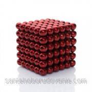 Неокуб красный 216 шариков Ø5мм