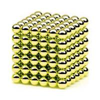 Неокуб золотой 216 шариков Ø5мм