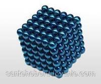Неокуб синий 216 шариков Ø5мм