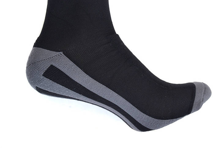 Носки лыжные длинные Briko Black L, фото 3
