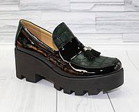 Туфли с кисточкой. Натуральная кожа 0067