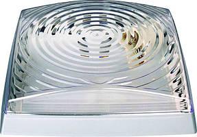 Светильник HOROZ ELECTRIC 2*26W (Классика) Квадрат Серебро
