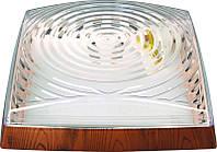 Светильник HOROZ ELECTRIC 2*26W (Классика) Квадрат Орех