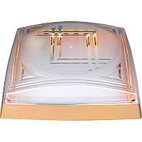 Светильник HOROZ ELECTRIC 2*26W (Модерн) Квадрат Золото